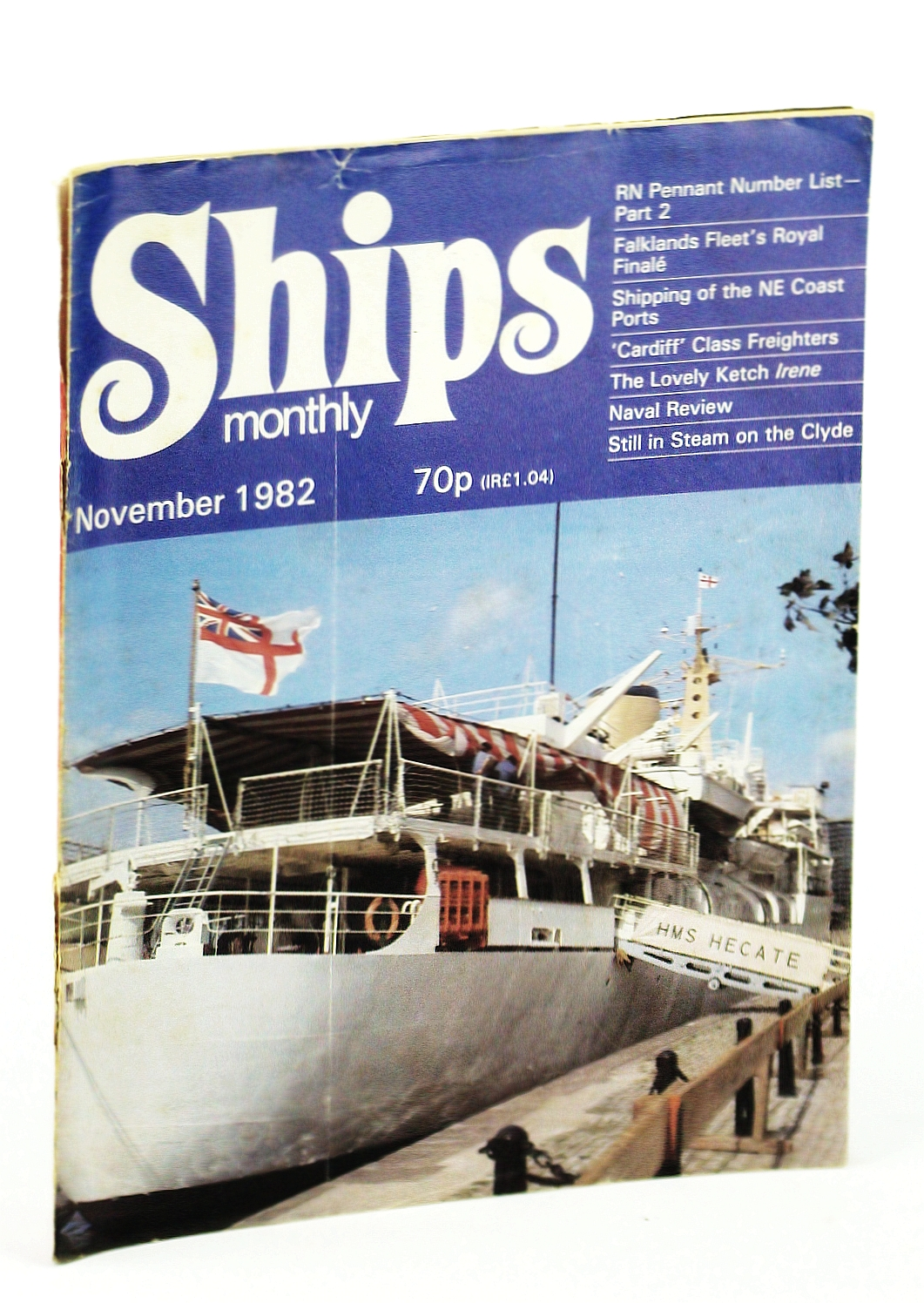 Image for Ships Monthly - The Magazine for Shiplovers Ashore and Afloat, November 1982 - The Lovely Ketch Irene