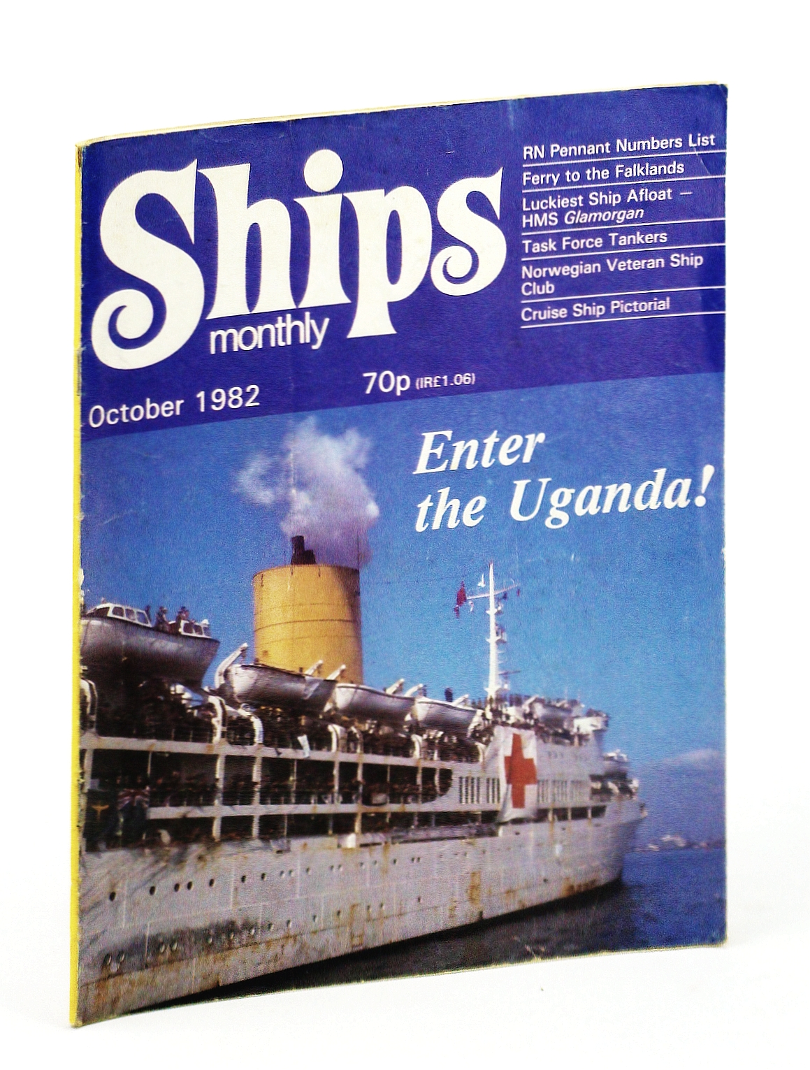 Image for Ships Monthly - The Magazine for Shiplovers Ashore and Afloat, October 1982 - The Luckiest Ship Afloat