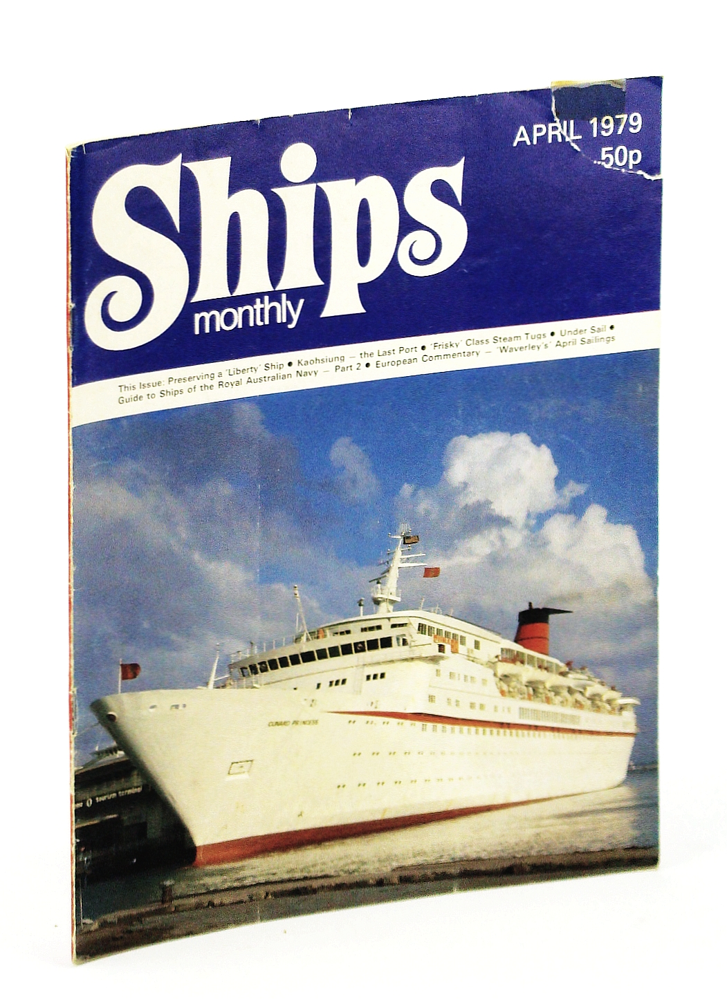 Image for Ships Monthly - The Magazine For Shiplovers Ashore and Afloat, April 1979: Kaohsiung - Taiwan's Famous Ship-Breaking Yards