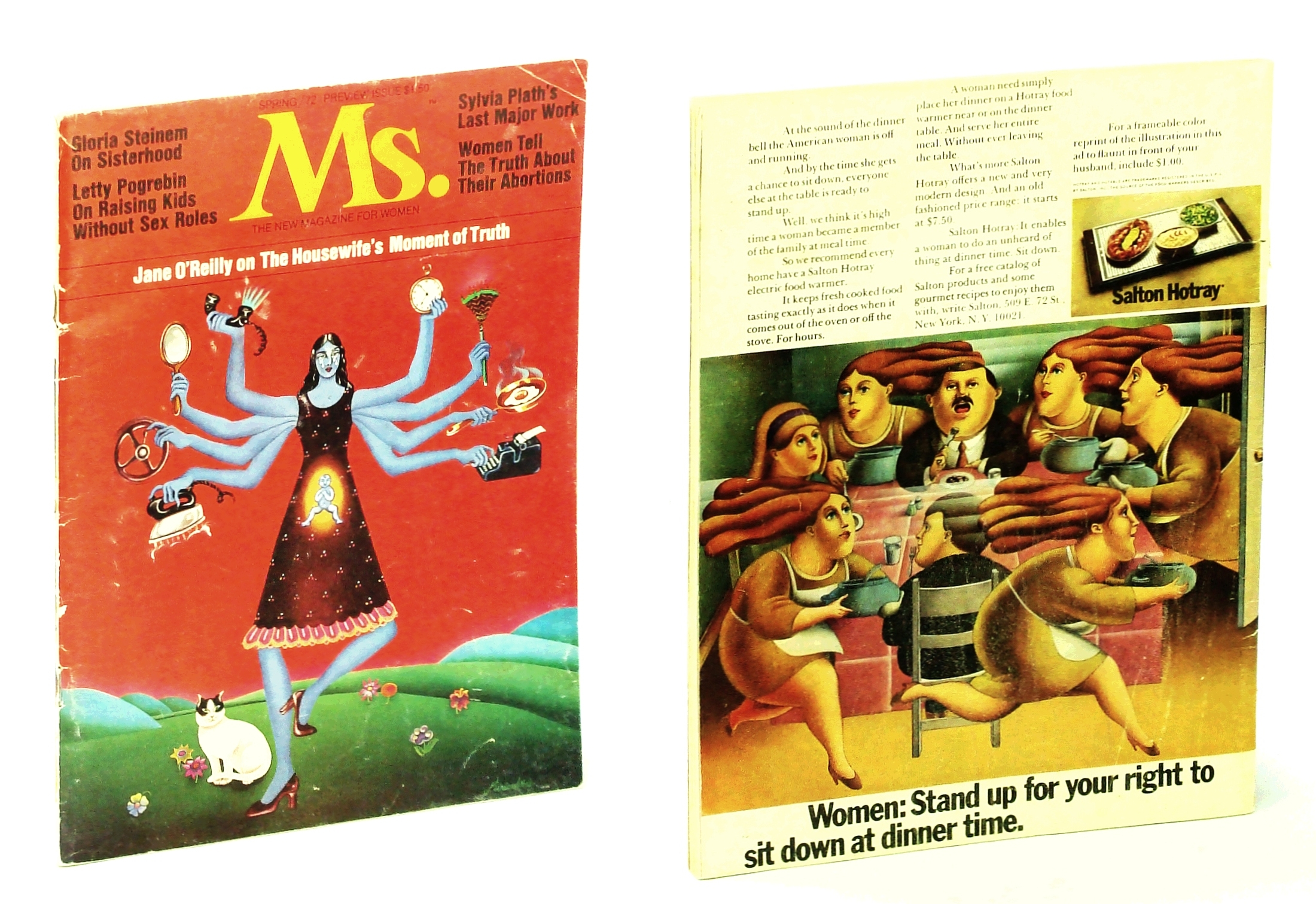 Image for Ms. The New Magazine for Women (Spring 1972 Preview Issue)