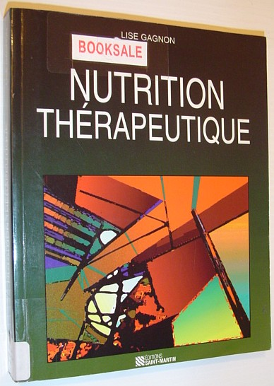 Image for Nutrition Therapeutique