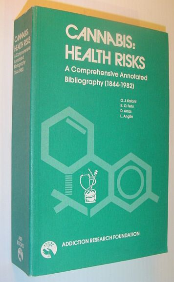 Image for Cannabis: Health Risks (Bibliographic series)