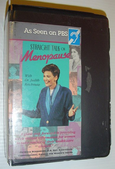 Image for Straight Talk on Menopause *Two 1-Hour VHS Videotapes in Case*