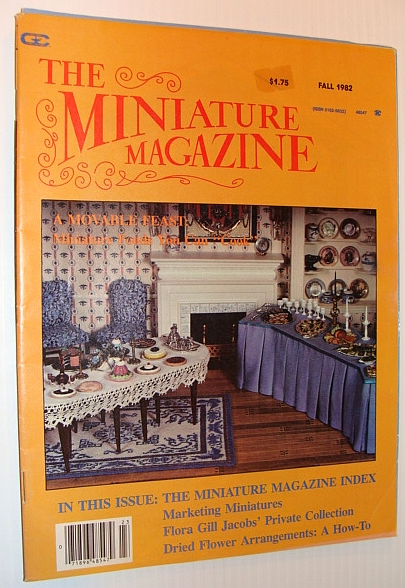 Image for The Miniature Magazine, Fall 1982 - Miniature Magazine Index and More