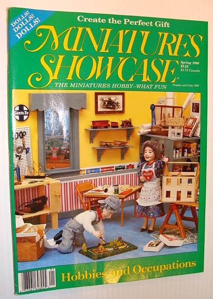 Image for Miniatures Showcase Magazine, Spring 1990 - Hobbies and Occupations