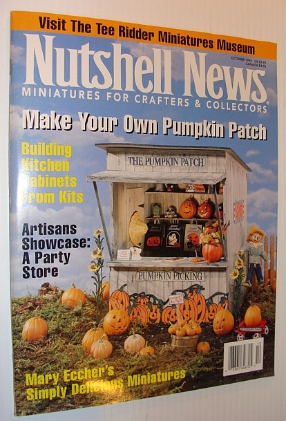 Image for Nutshell News Magazine, October 1996 - Make Your Own Pumpkin Patch