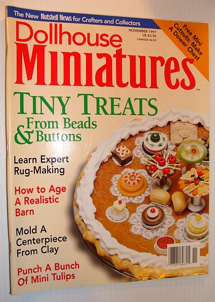 Image for Dollhouse Miniatures, November 1997 - Tiny Treats
