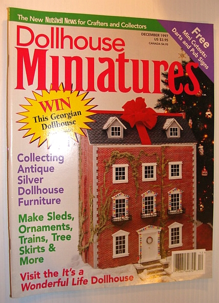 Image for Dollhouse Miniatures, December 1997