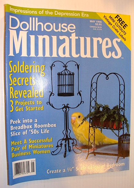 Image for Dollhouse Miniatures, May 1998 - Soldering Secrets Revealed - 3 Projects