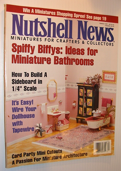 Image for Nutshell News, March 1997 - Ideas for Miniature Bathrooms