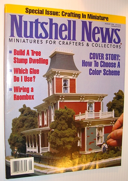 Image for Nutshell News Magazine, August 1996 - How to Choose a Colour Scheme