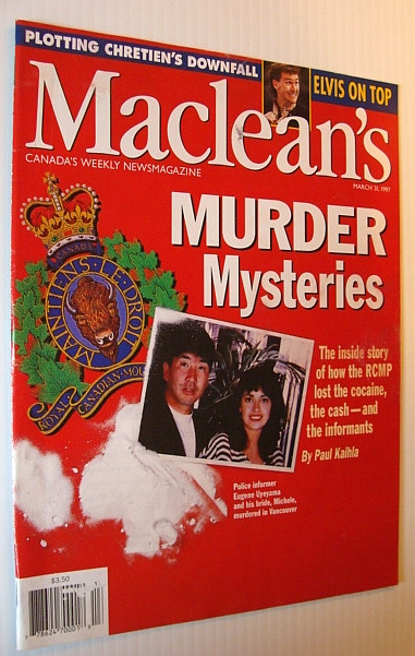 Image for Maclean's Magazine, March 31, 1997 - RCMP Drug Bust Gone Wrong