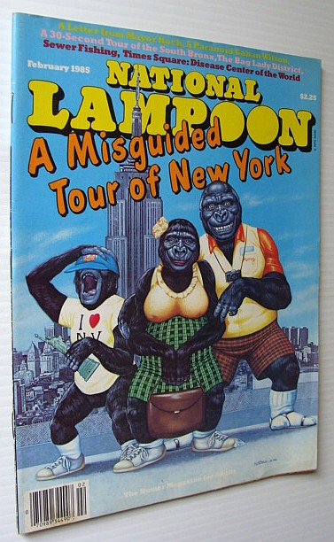 Image for National Lampoon Magazine, February 1985 - A Misguided Tour of New York
