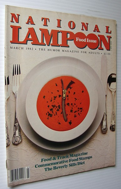 Image for National Lampoon Magazine, March 1982 - Food Issue
