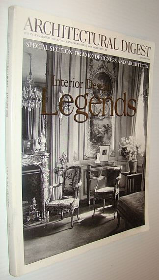 Image for Architectural Digest Magazine, January 2000 - The AD 100 Designers and Architects
