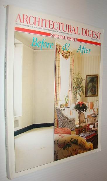 Image for Architectural Digest Magazine, February 1997 - Special Before & After Issue
