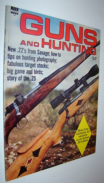 Image for Guns and Hunting Magazine, July 1969 *Thompson Submachine Gun Feature Article*