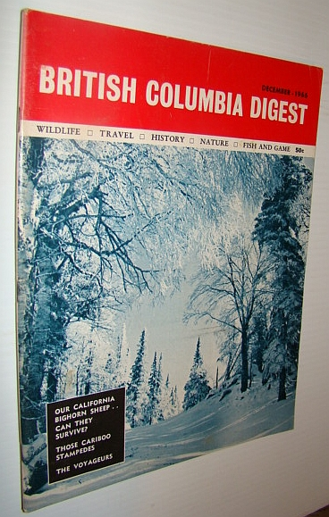 Image for British Columbia Digest Magazine, December 1966