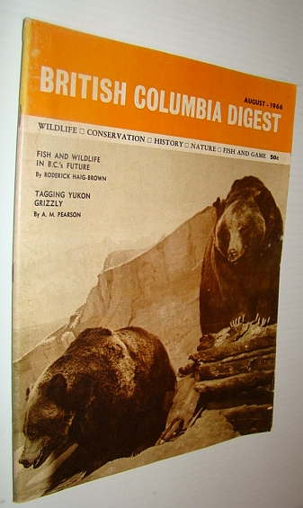 Image for British Columbia Digest Magazine, August 1966 - Roderick Haig-Brown Article on Conservation