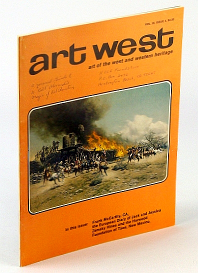 Image for Art West, Volume 3, No. 4