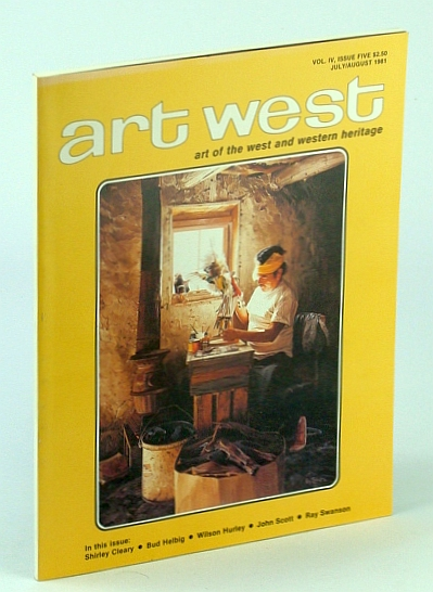 Image for Art West -  July/August 1981