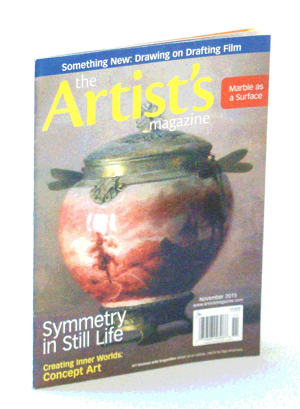 Image for The Artist's Magazine November 2015