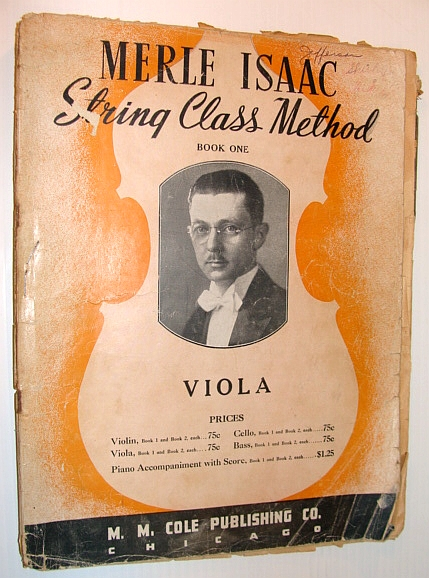 Image for Merle Isaac String Class Method - Book One: Viola