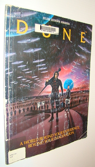 Image for Dune: Deluxe Souvenir Songbook (Dune)