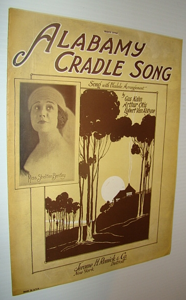 Image for Alabamy Cradle Song - Sheet Music for Vocal and Piano with Ukulele Chords