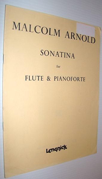Image for Sonatina for Flute and Pianoforte