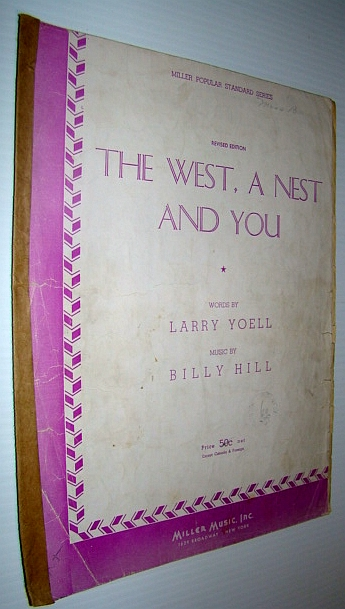 Image for The West, A Nest and You - Sheet Music for Piano And Voice with Guitar Chords