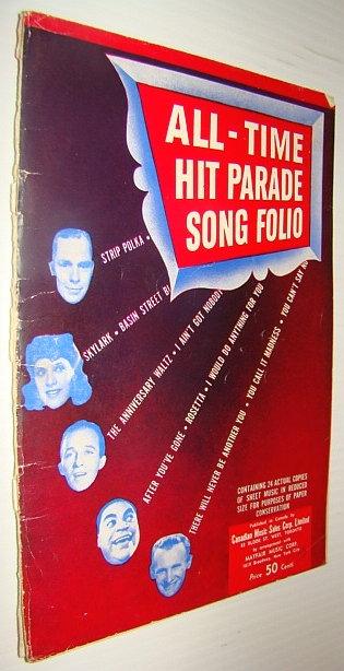 Image for All-Time Hit Parade Song Folio: Sheet Music for Voice and Piano with Guitar Chords