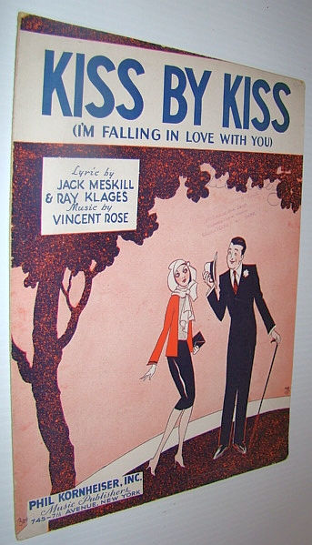 Image for Kiss By Kiss (I'm Fallling in Love With You) - Sheet Music for Guitar and Voice with Ukulele Chords