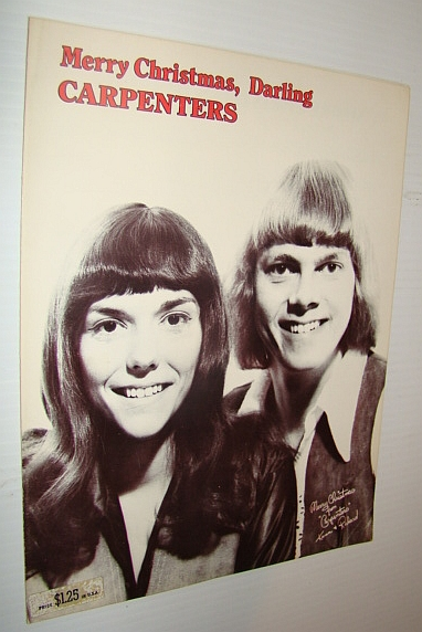 Image for Merry Christmas, Darling - The Carpenters: Sheet Music Piano and Voice with Chords