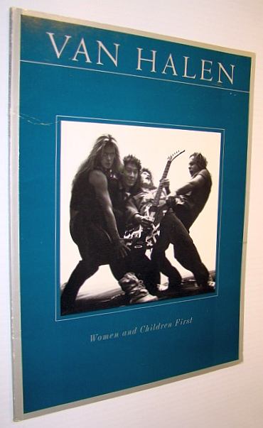 Image for Van Halen - Women and Children First: Songbook for Voice and Piano with Guitar Chords
