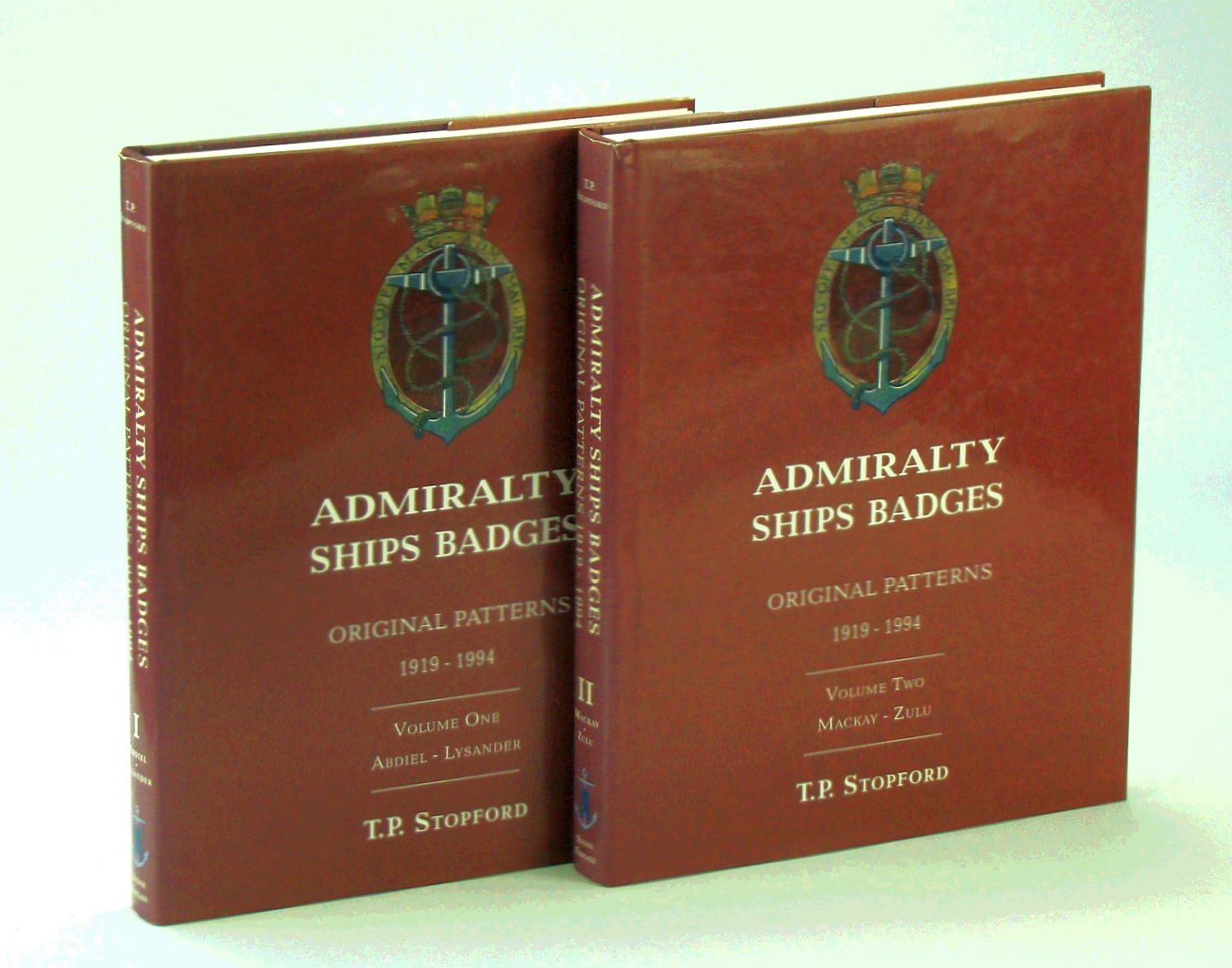 Image for Admiralty Ships' Badges 1919-94