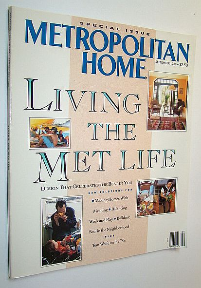 Image for Metropolitan Home Magazine, September 1988: Special Issue -  Living the Met Life
