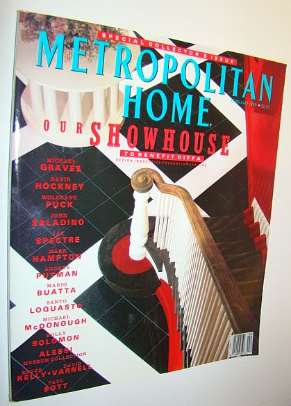 Image for Metropolitan Home Magazine, February 1989 - Special Collector's Issue - Our Showhouse to Benefit DIFFA