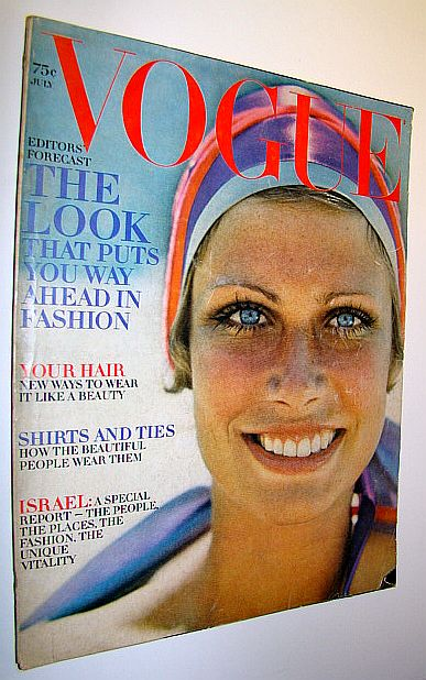 Image for Vogue Incorporating Vanity Fair (US), July, 1969 - The Look That Puts You Way Ahead in Fashion / Special Israel Report - Featuring Daliah Lavi