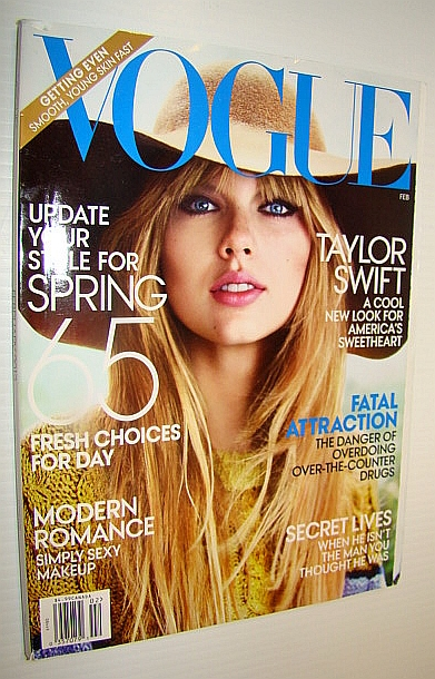 Image for Vogue (US), February 2012 - Taylor Swift Cover