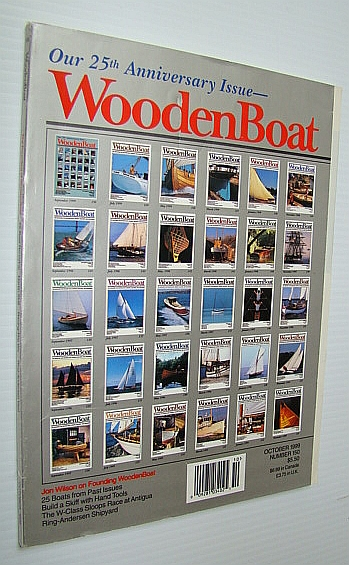 Image for WoodenBoat (Wooden Boat) Magazine, Number 150, September/October 1999 - 25th Anniversary Issue