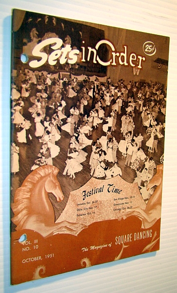 Image for Sets in Order - The Magazine of Square Dancing, October 1951 -  Features on Gus Empie and Clarke Kugler