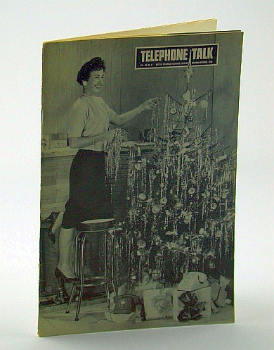 Image for Telephone Talk, Magazine of the British Columbia Telephone Company (B.C. Tel), November - December, 1958