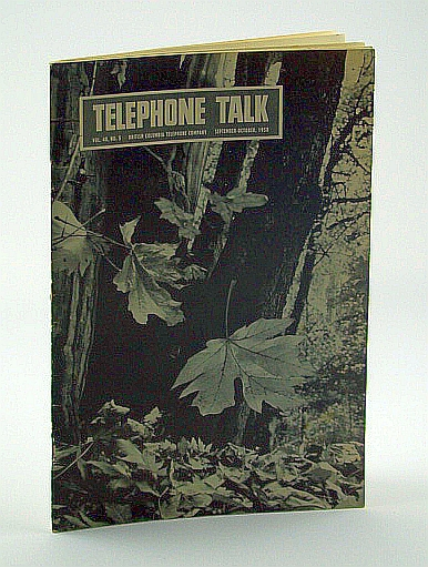 Image for Telephone Talk, Magazine of the British Columbia Telephone Company (B.C. Tel), September - October, 1958