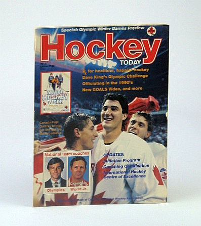 Image for Hockey Today - Official Publication of the Canadian Amateur Hockey Association, Edition 1987/1988 (87/88) - Canada Cup Victory Cover Photo of Wayne Gretzky and Mario Lemieux