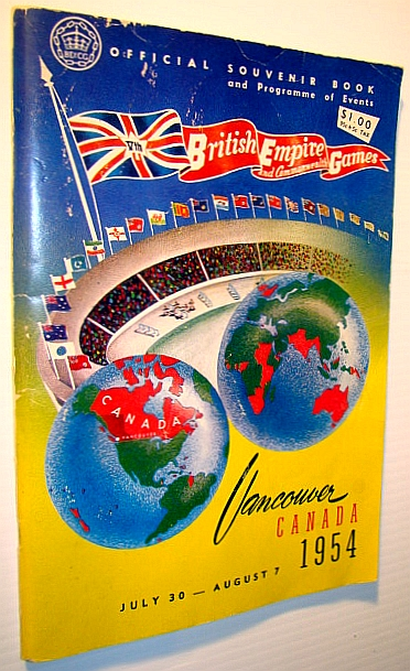Image for British Empire and Commonwealth Games - Official Souvenir Book and Programme of Events, Vancouver, Canada, July 30 - August 7, 1954