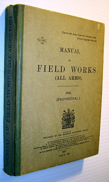 Image for Manual of Field Works (All Arms), 1921 (Provisional)