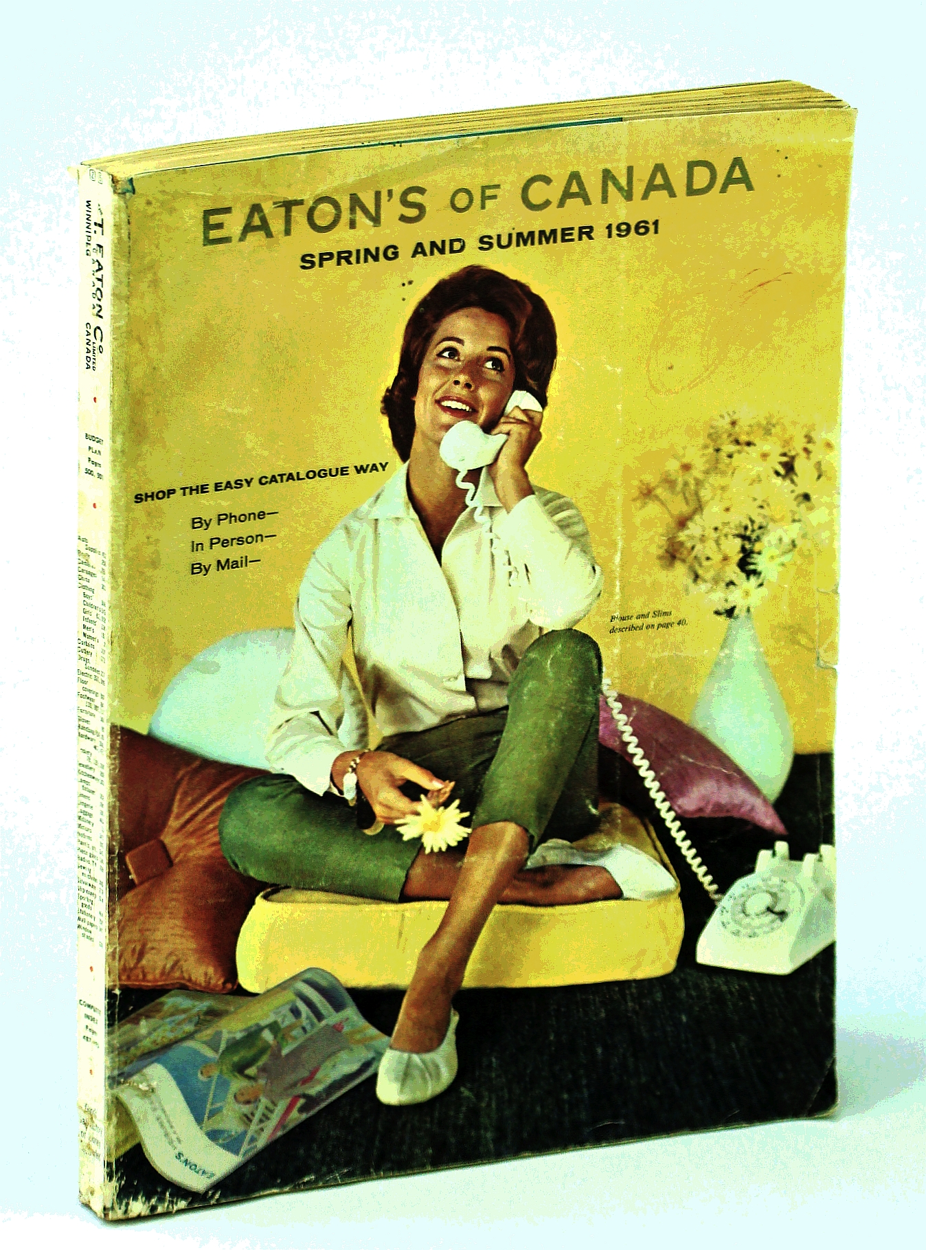 Image for Eaton's of Canada Spring and Summer Catalogue [Catalog] 1961