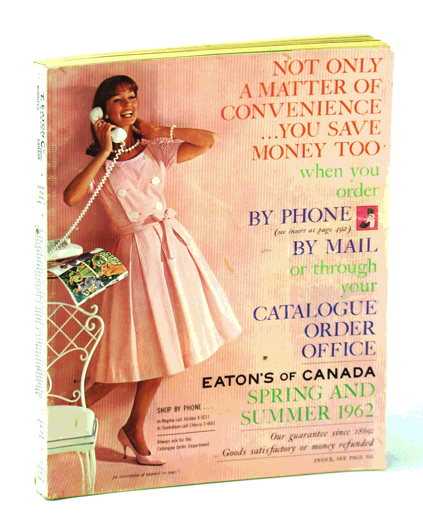 Image for Eaton's of Canada Spring and Summer Catalogue [Catalog] 1962