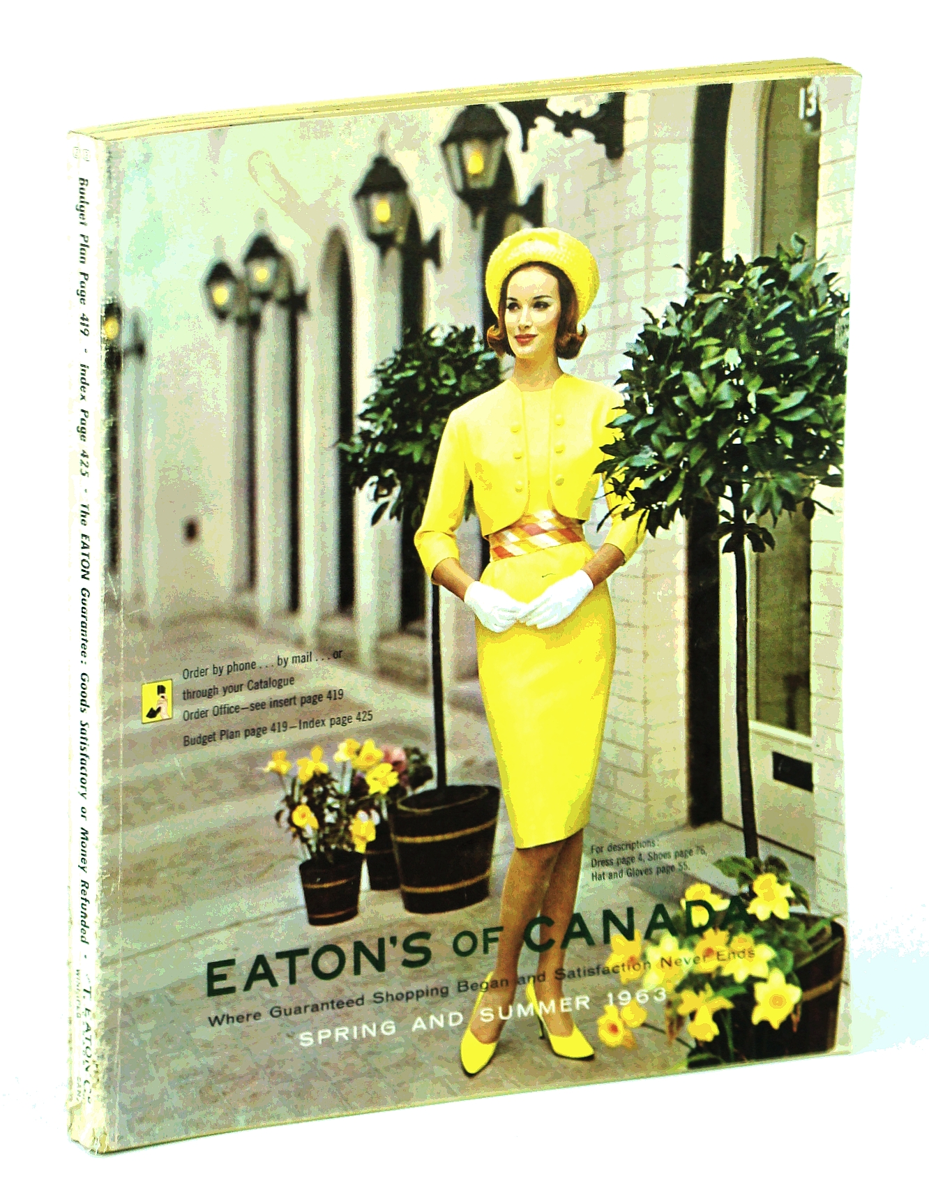 Image for Eaton's of Canada Spring and Summer Catalogue [Catalog] 1963